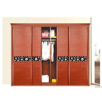 Full Aluminum furniture Aluminum wood color garderobe
