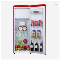Retro style colorful mini single door refrigerator thumbnail image