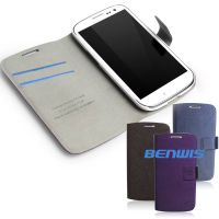 samsung galaxy s3 i9300 flip leather case thumbnail image