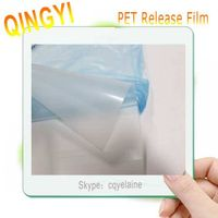 Wholesale high quality transparent hot peeling PET transfer film specialized for screen printing