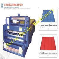 Haide Double glazed tile roll forming machine