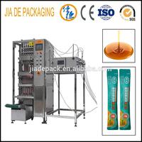 multi lanes liquid sauce sachet stick packing machine
