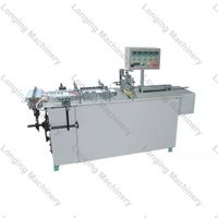 Semi-Auto Transparent Film Packaging Machine for Boxes