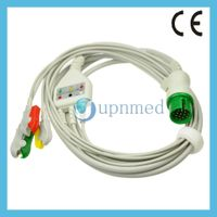 Spacelabs 700-0008-06 ECG cable with leadwires
