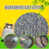 High quality irregular crushed benonite cat sand litter OEM