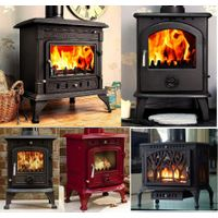 cast iron multi fuel stove
