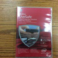 McAfee LiveSafe Unlimited* Device License 2015 Live safe thumbnail image