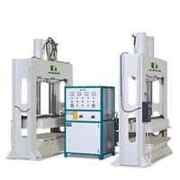 High frequency plywood curved bending press machine