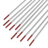 "TIG Welding Thorium Tungsten Electrode Pure Tungsten 1/16"" x 7"" (GREY Tip,2%) thumbnail image"