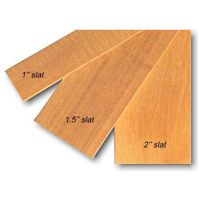 Sell Basswood Slat (Litong Wood) thumbnail image