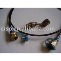 Test point hoses and adapters