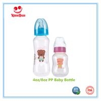 Arc Shape PP Infant Milk Bottles in Standard Neck