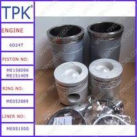 Mitsubishi S6K, 4D32,6D16, 6D24, 8DC9 Engine Parts, Liner kit, Piston, Ring Set, Cylinder Liner, Eng