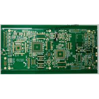Green 2.0mm BGA Circuit Board 10 Layer For Door Access System Electroless nickel Immersion Gold