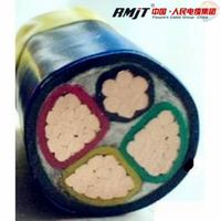 Low voltage 4 core xlpe insulated power cable