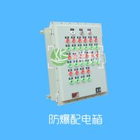 Explosion-proof distribution cabinet. thumbnail image