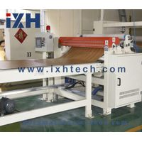 High quality 5' lamined floor horizontal two-step impregnating machine