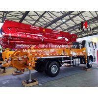2018 New 33M Model JH33-M mini concrete pump truck with good price