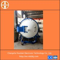 Silicon carbide pressureless sintering furnace
