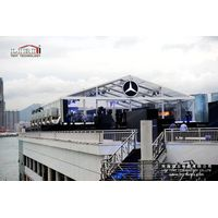 15x40m transparent event tent