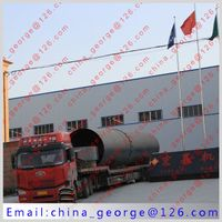 Large capacity hot sale cement rotary kiln sold to Jambyl