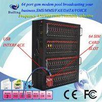 Multi-ports (64 ports)GSM/GPRS MODEM based on wavecom Q24plus module thumbnail image