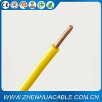 Electric Cable Power Cable PVC Insulated Single Cable