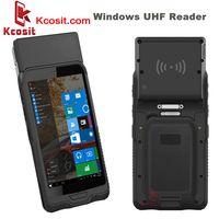 Handheld UHF RFID Reader Windows 10 RFID Scanner industrial tablet mini Mobile PC PDA Computer