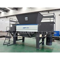 domestic waste shredder, double-shaft shredder