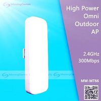 2.4G 300Mbps High Power Outdoor CPE /WiFi AP/Gateway/Bridge/AP