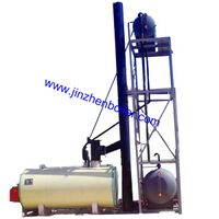 Oil Gas Thermic Fluid Heater , Heat Transfer Oil Boiler for textile printing and dyeing thumbnail image