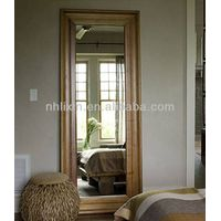 Wooden Frame Bathroom Mirrors