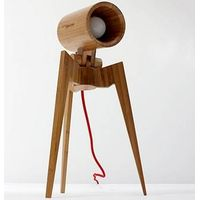 Standman bamboo table lamp