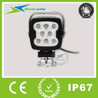 "6"" 80W SQUARE CREE LED Auto Driving Light for cars ships 7200 Lumen WI6801"