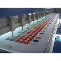Chenille type embroidery machine