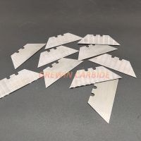 Tungsten carbide leather inserts work for paper leather