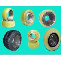 Various forklift wheels