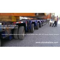 Scheuerle InterCombi Hydraulic Modular Trailer Platform Vehicle