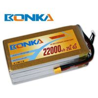 Bonka-22000mah-6S1P-25C muticopter lipo battery