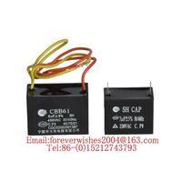 MS capacitor,CBB61,Polypropylene Film Capacitor,washing machine/refrigerator/air conditioner capacit