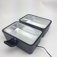 Heated Electric Lunch Box 12-Volt Portable Stove for Car, Truck, Camping, Etc. - Enjoy Hot Delicious thumbnail image