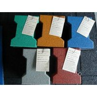 Surface epdm rubber flooring tiles