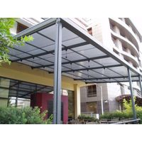 5mm pc solid polycarbonate building glass for building