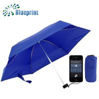 small ladies mini super light 6 folding umbrella