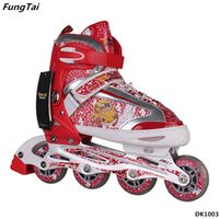 Children Soft Roller Inline Skate Shoes Freestyle Learners Patins (DK1003) thumbnail image