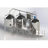 Micro-brewery for production 1300-1900 liters of beer per day thumbnail image