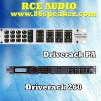 DriveRack Series PA speaker Control System Processor