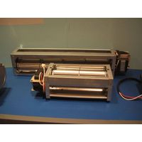 Cross flow fan is designed suitable silent operation by shaded pole motor. thumbnail image