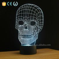 NL5 skull shape table Sleeping mini led light