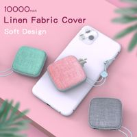 Konfulon Cute Portable Battery, 10000mAh Mobile Power Bank Fast Battery Charger Pack Compatible iPho thumbnail image